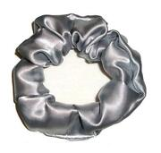 Silver Hair Scrunchie