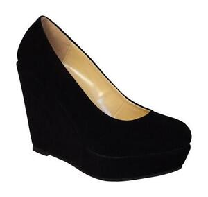 e320294b442 Platform Wedge Court Shoes