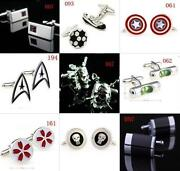 Cartoon Cufflinks