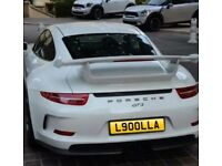 Personalised plate L900LLA