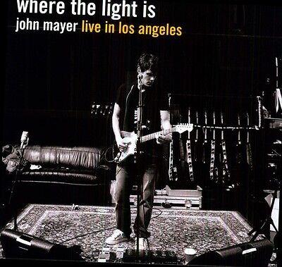John Mayer   Where The Light Is  New Vinyl  Holland   Import
