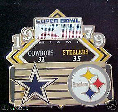 Super Bowl 13 Final Score Pin Steelers Vs  Cowboys Pdi