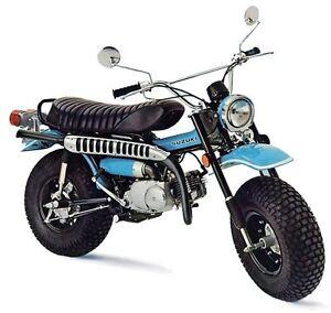 Suzuki rv90 1971