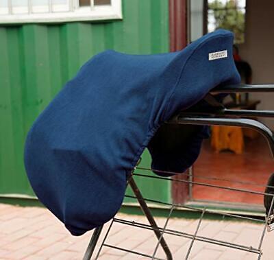 Harrison Howard Fleece Horse Saddle Cover Dressage Blue