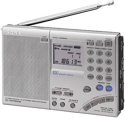 Sony Icf-sw7600gr Multi-band World Receiver Radio (icfsw7600gr)