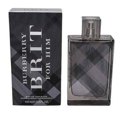 Burberry Brit by Burberry EDT Cologne for Men 3.3 / 3.4 oz Brand New In Box