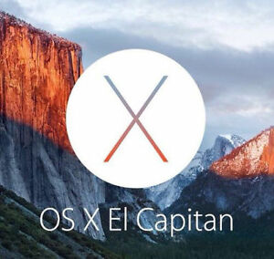 Apple OSX 10.11 El Capitan Bootable Usb Installer RECOVERY