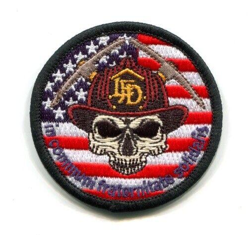 Lafayette Fire Department IAFF Local 4620 Patch Colorado CO Skull