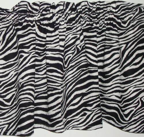 Zebra Print Curtains Ebay