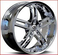 Roues (Mags) Boulevard 5 Chrome PVD 20 pouces
