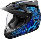 Icon Blue Helmets without Warranty