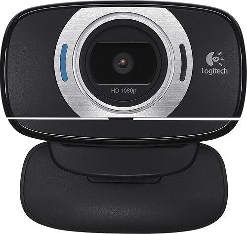 Logitech - HD Webcam C615 - Black