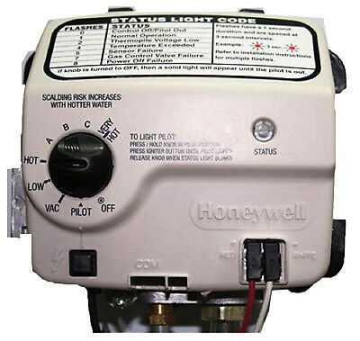 Honeywell Electronic Gas Control Valve 9007884 for Reliance Water Heater 157481