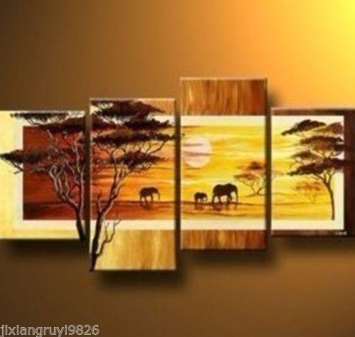 Framed African Art Ebay