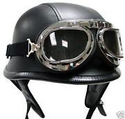 German Half Helmet