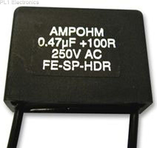 AMPOHM WOUND PRODUCTS - FE-SP-HDR28-470/47 - CONTACT SUPPRESSOR, 0.47UF, 47R