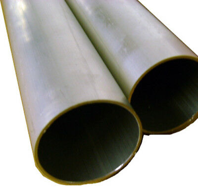 Aluminum Round Tubing 1.50 Od X .050 X 72 Long New - 1-12 Outside Diameter