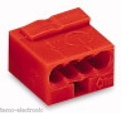 100 Stück WAGO 243-804 Dosenklemmen 4 x 0,6-0,8 mm² Wagoklemmen