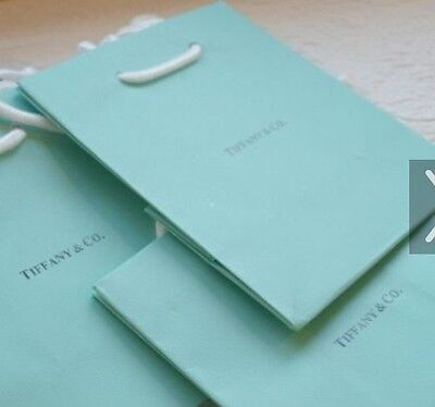 1x NEW AUTHENTIC TIFFANY & CO. PAPER GIFT BAG