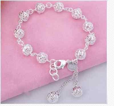 Edles Design 925  Silber Armband Armkette  Hochglanz Neu, 100D