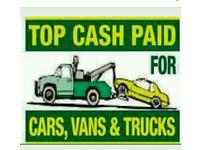 DANNY'S SCRAP CAR SERVICE-BEST PRICES PAID-1 HOUR COLLECTION TIME