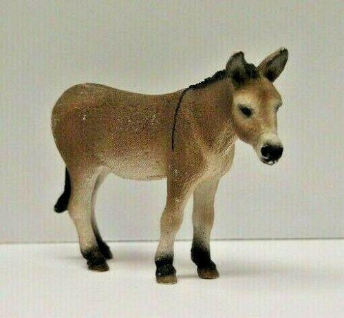 DONKEY by Schleich toy 13644 Farm Life RETIRED RARE
