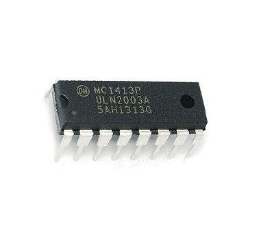 2pcs Mc1413p Uln2003a Motorola 16 Pin Dip Darlington Transitor Array