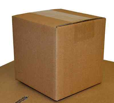 5 Single Wall Cardboard Post Postal Small Shipping Mailing Boxes 25x18x12