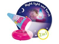 Pippa Pig Go Glow light (2in 1 Nightlight & Torch)