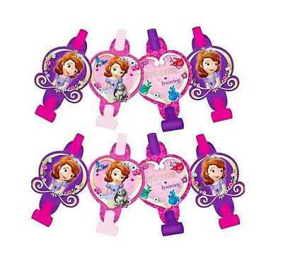 Princess Sofia Birthday (PRINCESS SOFIA THE FIRST birthday party supplies BLOWOUTS 8 Disney)
