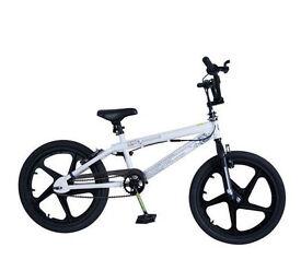 Zinc Gravity 20 Inch BMX Bike - Unisex Steel Freestyle Frame BMX Style Tyres NEW