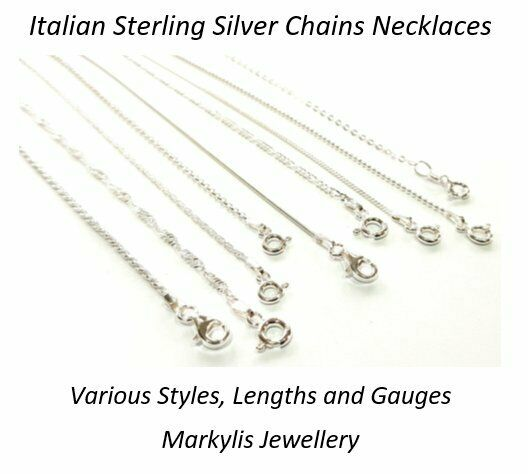 925 Sterling Silver Necklace Chain Various Styles And Lengths Available Ebay