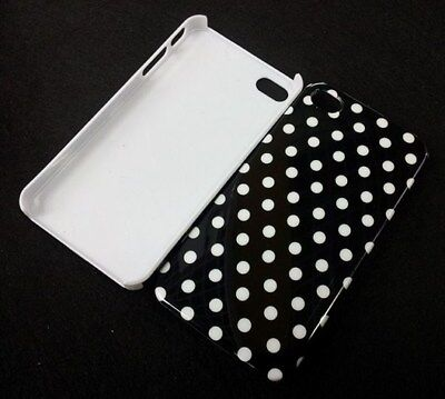 Polka Dots Hard Snap-On Back Case Cover for iPhone 4/4s Dots Cover Case Snap