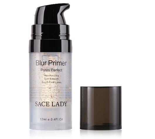 Primer Makeup Oil Control Matte Make Up Face Base Cream 24K Gold Professional