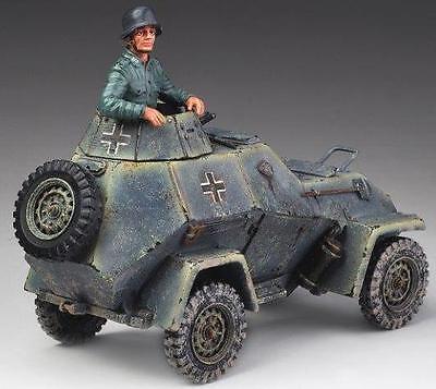 THOMAS GUNN WW2 GERMAN WINTER V012 BA 64 ARMOURED CAR & COMMANDER MIB