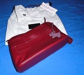 Radley Handbag, Cherry Red