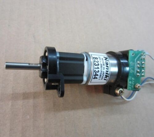 Japan namiki coreless servo gear motor dc 12v 120rpm for Dc gear motor with encoder