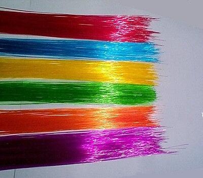 .25mm 150ft Colored FIBER OPTIC MODEL LIGHTING many uses + FREE illuminator!