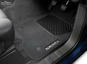 Nissan Navara D40 GENUINE Carpet Floor Mats Part: NIG4900-EC010AU