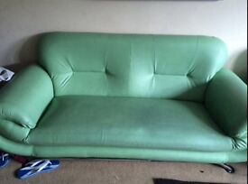 3-seater leather sofa