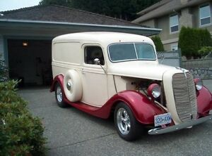 1937 Ford 1/2 ton panel truck