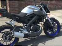 Yamaha MT 125 2016 Immaculate Condition Low Miles