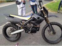 150cc crosser pit bike not quad big wheel
