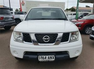 2011 Nissan Navara D40 ST Polar White Automatic Utility Whyalla Whyalla Area Preview