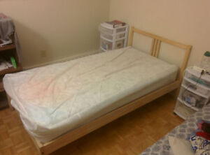 Twin Size Spring Comfort Matress+ Bed for sale
