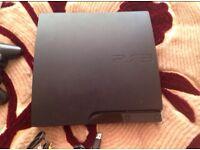 SONY PLAYSTATION PS3 SLIM CECH 2504A 160 GB GAMES GTA5 MINECRAFT COD