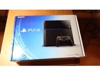 PS4 500GB with FIFA 17 and black ops 3 and a headset Perfect condition!