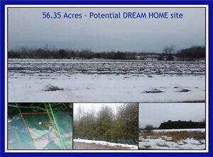Potential Dream Home site on 56.35 acres  Vacant Land