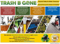 Yard Care,Junk Trash, Rubbish Removal,Commercial and Residential