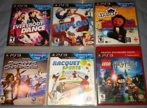 Playstation Move Games (Various Prices)